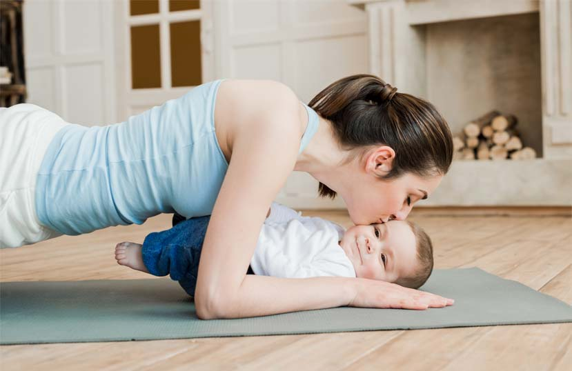 lose weight after delivery fast in hindi