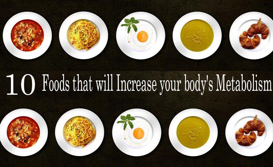 veg food for boosting metabolism